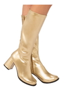 Rubies 278344 Adult GoGo Boot Gold 6