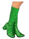 Rubies 2000696 Adult GoGo Boot Green 6