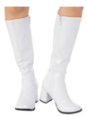 Rubies 2000708 Adult GoGo Boot White 8