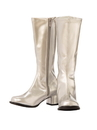 Rubies 20007211/12 Child GoGo Boot Silver 11/12