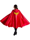 Rubies 38230one size Deluxe Adult Wonder Woman Cape O/S