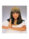 Rubies 49195 Gold Mesh Cleopatra Headpiece NS
