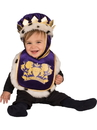 Rubies 278642 Baby King Bib & Crown Costume (One Size)