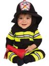 Rubies 510533TODD Baby/Toddler Fireman Costume TODD
