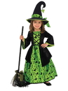 Rubies 510566S Girls Green Witch Costume S