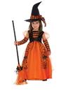 Rubies 510567XS Girls Sparkle Witch Costume XS