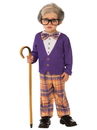 Rubies 510575S Boys Little Old Man Costume S