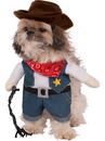 Rubies 580657LXLL Walking Cowboy Pet Costume L