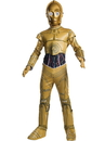 Rubies 640557S Star Wars Classic Childrens C-3Po Classic Costume S