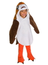 Rubies 640958XS Star Wars The Last Jedi Deluxe Toddler Porg Costume XS