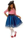 Rubies 278993 Girls Petite Mademoiselle Costume L