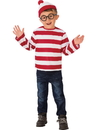 Rubies 641333M Where's Waldo Child Costume M
