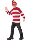 Rubies 641378L Where's Waldo Deluxe Child Costume L