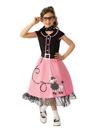 Rubies 700083M Girls 50s Sweetheart Costume M