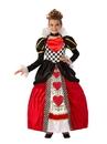 Rubies 700087XS Child Elite Queen Of Hearts Costume XS
