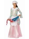 BuySeasons 700098XL Patriotic Colonial Girl Costume