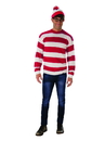 Rubies 821177XL Where's Waldo Adult Deluxe Costume XL