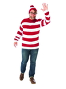 Rubies 821179PLUS Where's Waldo Plus Size Adult Costume PLUS
