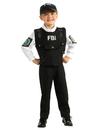 Rubies 881722M Kids FBI Agent Costume M