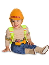 BuySeasons 510531INFT Baby/Toddler Lil' Construction Worker Costume
