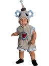 BuySeasons 510539TODD Baby Lil' Robot Costume