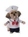 BuySeasons 580658LXLL Walking Sailor Pet Costume
