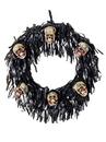 BuySeasons M38266 6 Bloody Mini Skull Wreath
