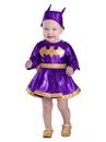BuySeasons PP49181218 Baby Batgirl Dress & Diaper Cover Set Costume