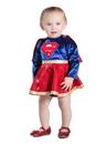 BuySeasons PP4919612M Baby Supergirl Dress & Diaper Cover Set Costume