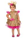 BuySeasons PP4420182T Toddler Gigi The Giraffe Costume