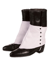 BuySeasons 280886 Gangster Spats with Black Buttons