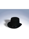Forum 21137 Black Top Hat - One Size