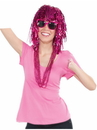 Forum 71448 Pink Tinsle Wig - One Size