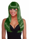 Forum 71827 Green Long Wig - One Size