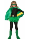 Forum 76482 Green Child Cape - One Size