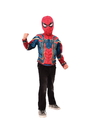 BuySeasons G34184OS Spider-Man Muscle Chest Shirt Set