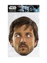 Mask-arade 34361 Star Wars: Rogue One-Cassian Facemask - One Size