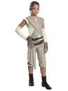 BuySeasons 641256L Star Wars: Forces Of Destiny- Deluxe Rey Of Jakku Girls Costume