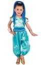 BuySeasons 6207932T Shimmer & Shine: Shine Deluxe Toddler Costume