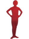 Red Im Invisible Kid's Skin Suit - M 8-10