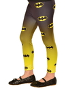 Girls Batgirl Footless Tights - One Size