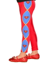 Girls Supergirl Footless Tights - One Size