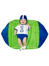 Toddler Swaddle Wings Football Costume - 0/3M