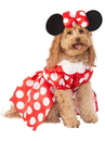 Minnie Mouse Pet Costume - S 11