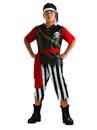 Boys Pirate King Costume - M 8-10
