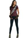 Star Wars Womens Chewbacca Rhinestone T-Shirt Costume - Small