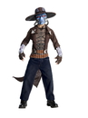 BuySeasons 883995L Star Wars Boys Deluxe Cad Bane Costume