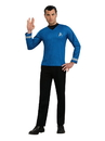 Rubies Costumes 887358S Star Trek Men's Movie Blue Shirt Adult Costume - Small