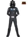 BuySeasons 610604S Star Wars Deluxe Tie Fighter Pilot Kids Costume
