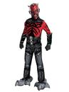 BuySeasons 881360M Star Wars Deluxe Mechanical Darth Maul Kids Costume
